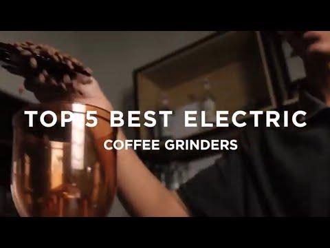 Top 5 BEST Electric Coffee Grinders!