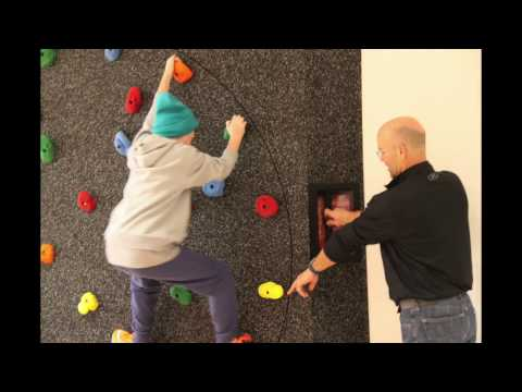 Try New Climbing Wall & Slacklines in SKI CENTRE GYM