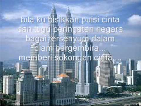Senyumlah Kuala Lumpur with lyrics (Alleycats)