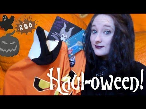 🎃HAUL-OWEEN!🎃 Skeletons, Pumpkins, and the Beauty of Evil! | Amy McLean