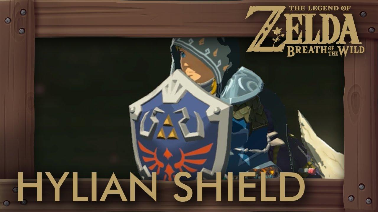 zelda breath of the wild hylian shield location how to get