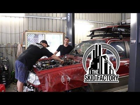 THE SKID FACTORY - Nissan Patrol TD42 Turbo Diesel Swap [EP4]