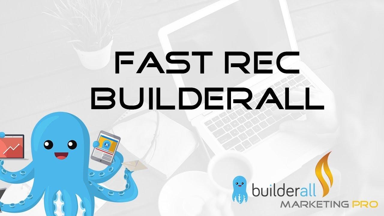 Come Registrare Utenti Con Builderall - Fast Rec