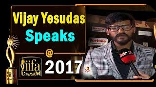 Vijay Yesudas Speaks @ Iifa Awards Utsavam 2017  Vanitha Tv