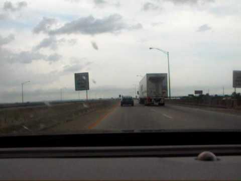 Driving Across the Mobile Alabama Bridge