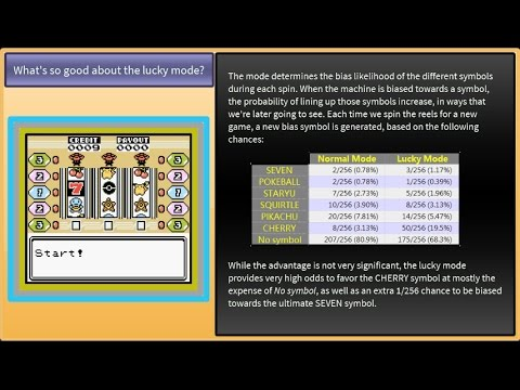 Pokemon Crystal Slot Machine