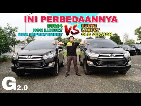 Perbandingan Mesin INNOVA 2018 EURO4 Vs EURO2 Toyota Indonesia New Improvement