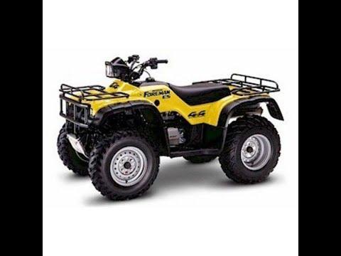 Honda Fourtrax Foreman (1998-2004) - Service Manual ...