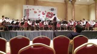 Bagan Jaya School Band (BJSB) Ross Roy part 1 (Malaysia Music Art Festival 2014)