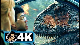 JURASSIC WORLD 2 Movie Clip - T-Rex vs. Carnotaurus |4K ULTRA HD| Sci-Fi Dinosaur 2018