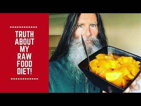 Truth About My Raw Food Diet!