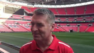 Dean Smith Wembley interview