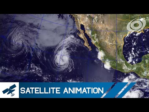 Hurricanes in the Eastern Pacific - July 2016