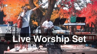 Live Acoustic Worship Set: Fall in Love - Before its too Late - My Refuge - Bloom ✞ PBnJ Music