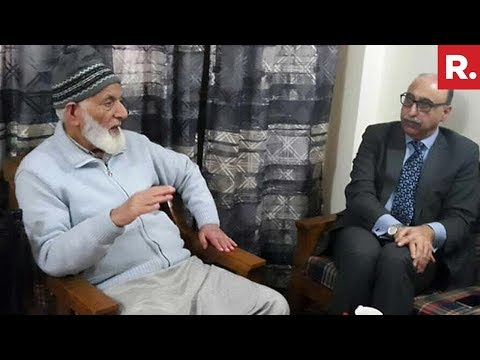 EXPOSED: Abdul Basit Supports Syed Ali Shah Geelani
