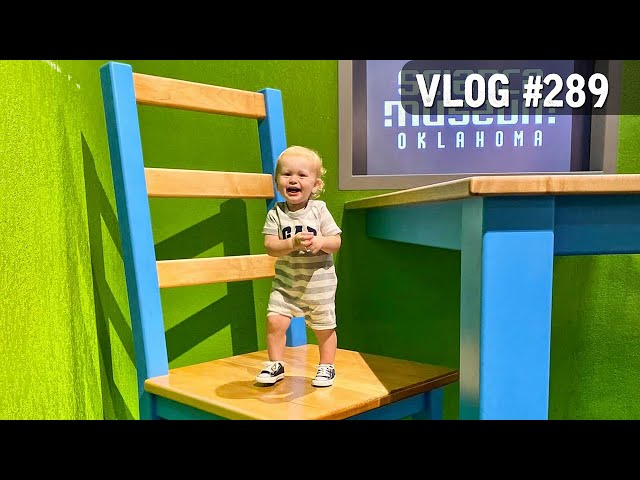 VLOG #289 / Bodhi's 1st Trip to the Oklahoma Science Museum / September 26, 2020