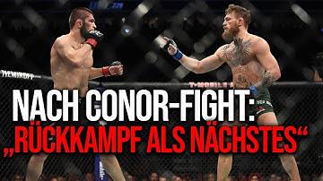 UFC-Boss bestätigt KHABIB als nächsten Gegner für Conor McGregor!
