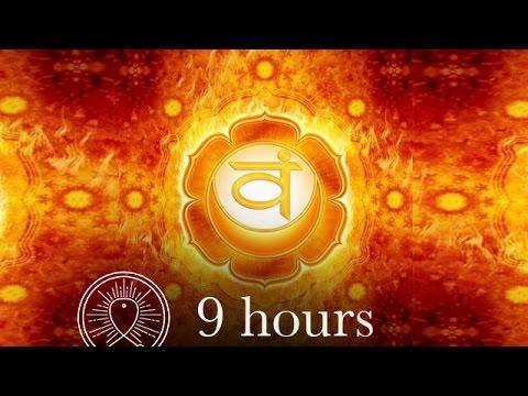 Sleep Chakra Meditation Music: Sacral Chakra Meditation Balancing & Healing Deep Sleep Meditation