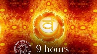 Sleep Chakra Meditation Music: Sacral Chakra Meditation Balancing & Healing Deep Sleep Meditation