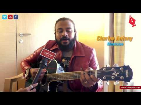 WATCH : CHARLES ANTONY SINGING IN SPANISH, HEBREW AND SINHALA