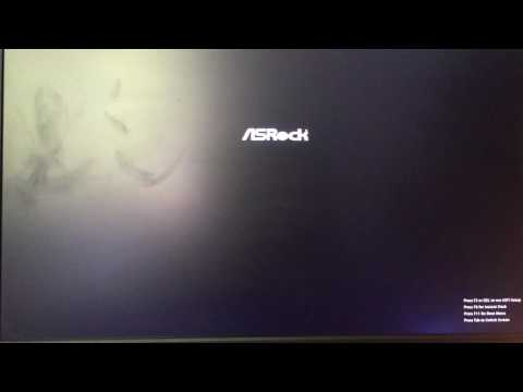 ASRock Bios problem/bug - YouTube