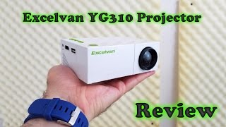 YG310 LED Projector REVIEW - Small and Cheap!