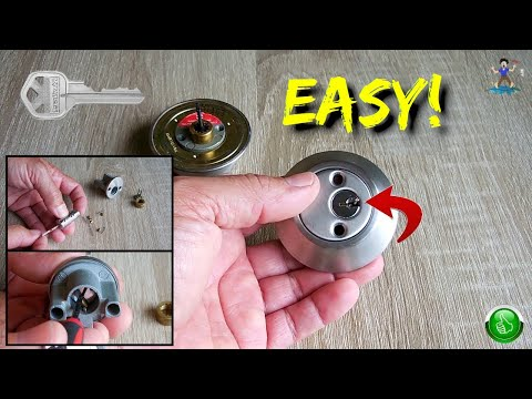 How To Rekey a Kwikset or Schlage Deadbolt Lock