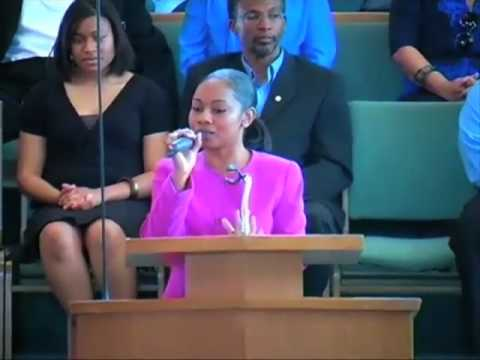 Anndretta Sings Have Thine Own Way
