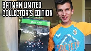 Batman Arkham Knight Limited Edition Unboxing!! Collector