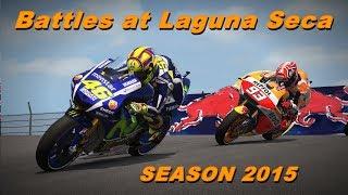 MotoGP 2015 Season | Battles at Laguna Seca | TV REPLAY PC GAME