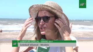 Entrevista en Pinamar a Soledad Villarreal