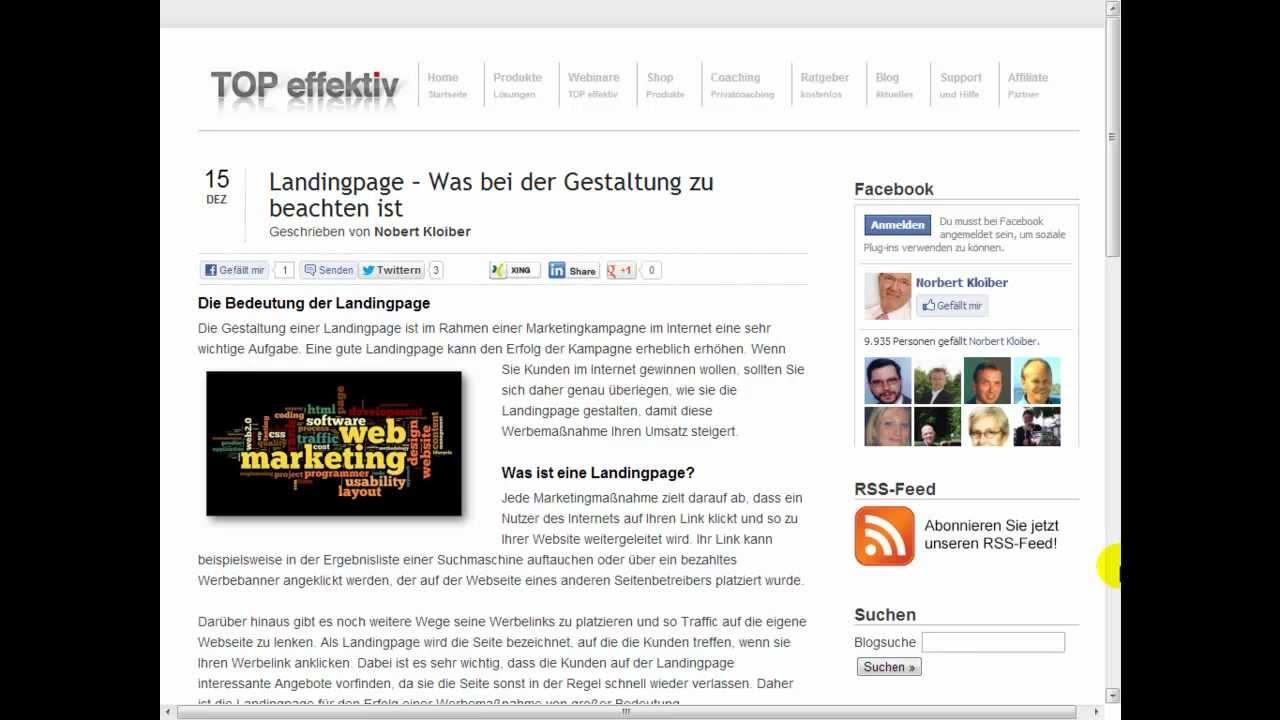Beste Video Landing Page Vorlagen Ideen - Beispiel Business ...