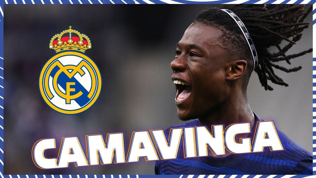 Eduardo Camavinga: Real Madrid sign Rennes midfielder