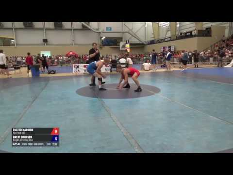 74 Round of 64 - Foster Karmon (New York RTC) vs. Brett Johnson (Knights WC)