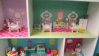 Diy Dollhouse For Mini Lalaloopsy Dolls From A Closetmaid Mini Cubeical Organizer
