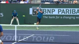 Top 10 Hot Shots Of ATP INDIAN WELLS MASTERS 2013  [HD]