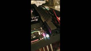 Asus Rog Dominus Extreme Start with blower (Q Code 00).