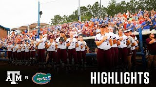 Softball: Highlights | Florida 5, A&M 3 - Super Regional Game 3