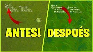 ¡COMO BAJAR EL PING Y MEJORAR LA CONEXIÓN EN FORTNITE SIN TENER LAG! (Ps4, Xbox Y PC)