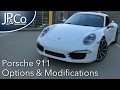 My 2013 Porsche 911 Carrera Options & Modifications