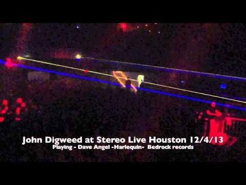 John Digweed at Stereo Live Houston 12/4/13