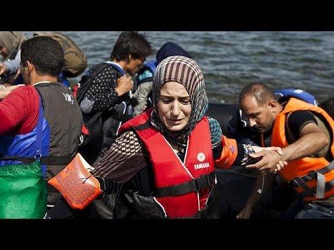 Refugiado sírio filma viagem clandestina até Lesbos