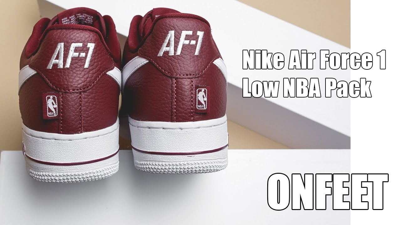 375736159a947 Nike Air Force 1 Low NBA Pack