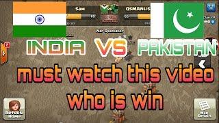 Clash of clan India vs Pakistan war (hindi) sam1735 casino table