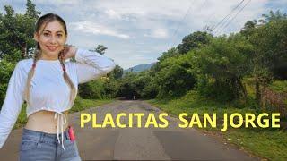 Cindy nos muestra las calles de Placitas en el Municipio de San Jorge parte 2
