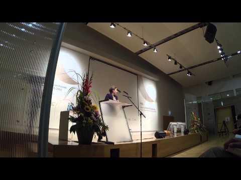 Malgorzata Zakrzewska   European Forum Alpbach Speakers' Night 2014