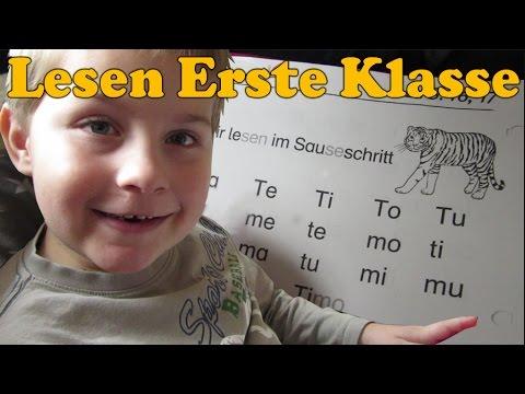 Lesen lernen erste Klasse mit Ash