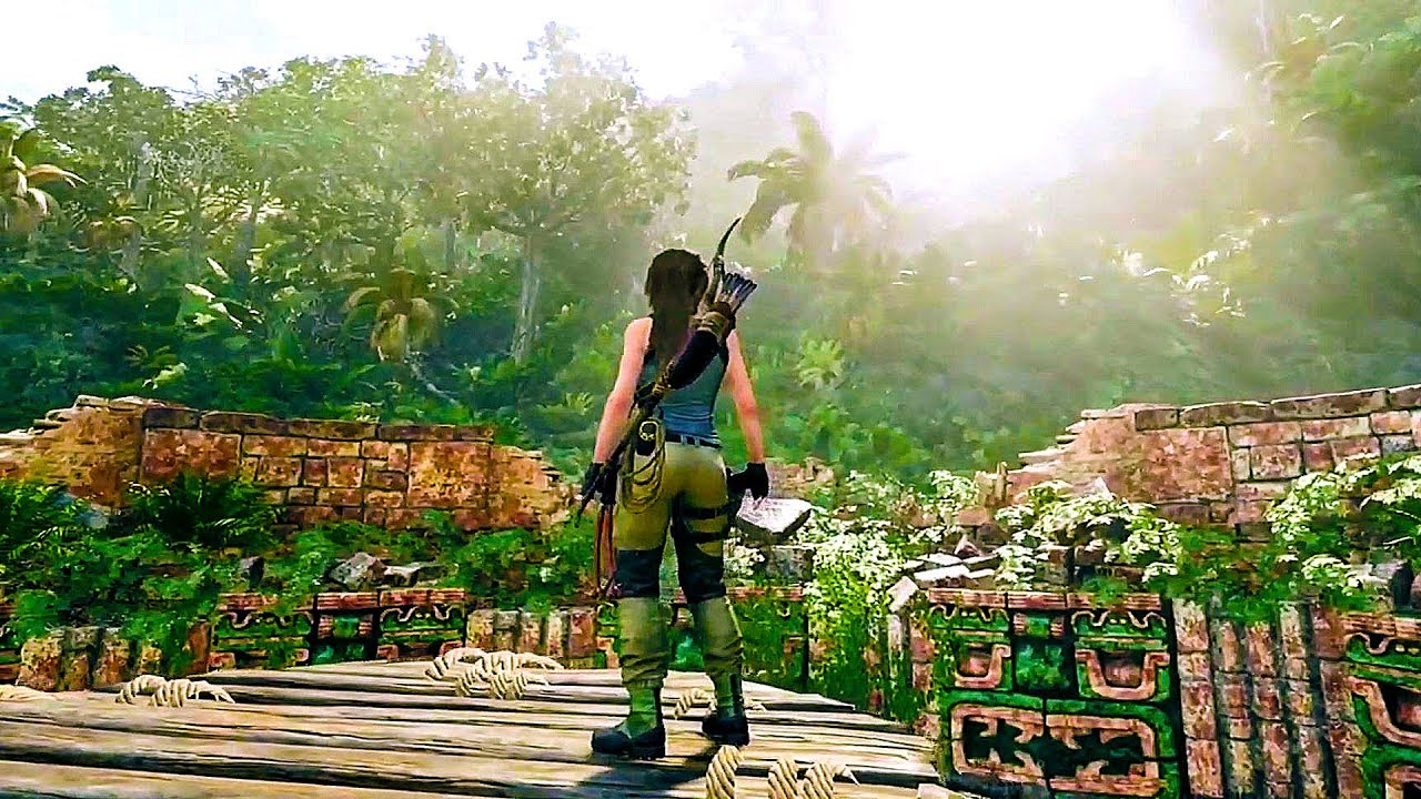 Shadow Of The Tomb Raider Gameplay Demo Pax West 2018 Youtube
