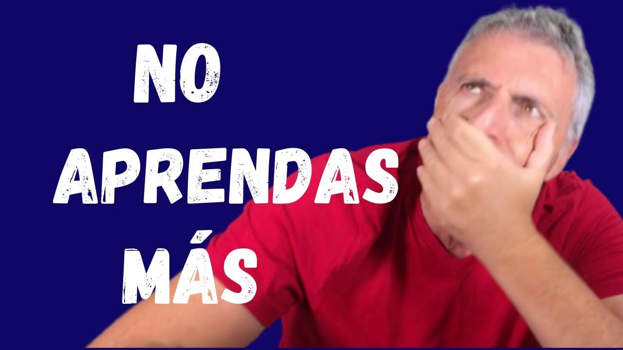 Cómo HABLAR español más RÁPIDO 🎯.