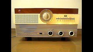 東芝 真空管ラジオ かっこうD 6TB-121 です。 発売は昭和32年(1957年)...